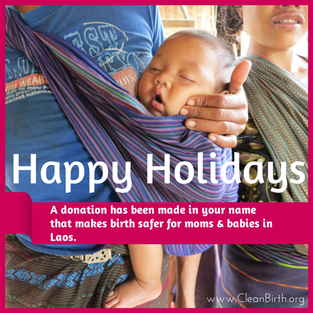 CleanBirth.org Holiday