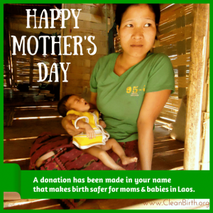 CleanBirth.org: Happy Mother's Day eCard