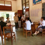 We now supply a Lao Hospital with Birth Kits